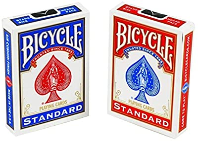 Standard Face Playing Cards, 2 Piece (New Version) by