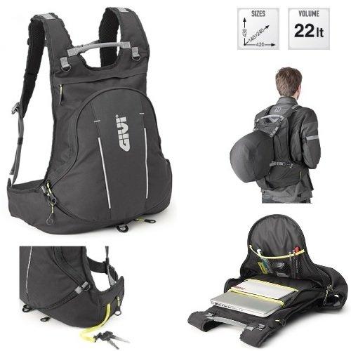Tas voor skihelm Givi EA104B ESPANDIBILE 430X 140-240X420MM ZWART VOLUME 22L