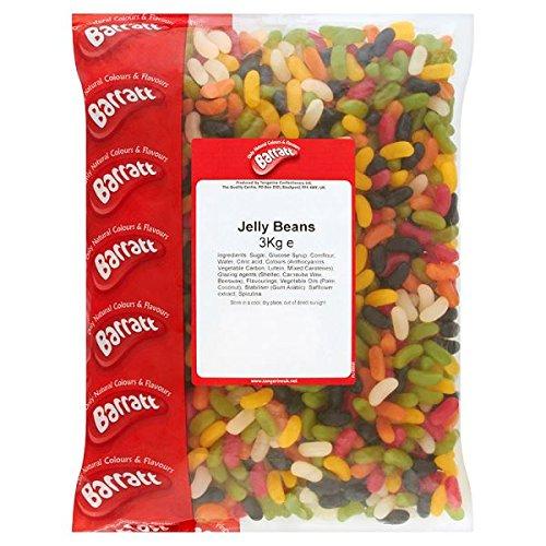 Barratt Jelly Beans (3kg Bag)