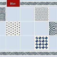 ウォールステッカーステッカー壁紙 キッチンオイルプルーフステッカー高温クックトップ自己接着タイルキャビネットカウンターレンジフード壁ステッカー壁紙 (Color : Indian style, Dimensions : 3mx60cm)
