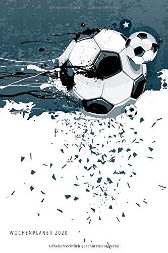 Wochenplaner 2020: Terminplaner 2020 | Jahreskalender A5 | Timer | Geschenk Fussballer Fussball Fans Trainer | 160 S. | A5 |