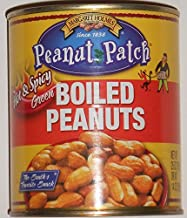 Margaret Holmes Peanut Patch Hot and Spicy Green Boiled Peanuts Pack of 4 - 25 oz cans