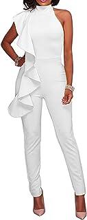 Women's Sexy Thin Ruffle Strapless High Waist Clubwear...