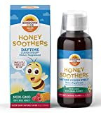 Sundown Kids Honey Soothers Daytime Cough Syrup, Non-GMO, Raspberry, 4oz. with Vitamin C for Immune Health*