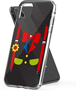 Case Phone Clown Costume Funny Circus Halloween Costumes (6.5-inch Diagonal Compatible with iPhone 11 Pro Max)