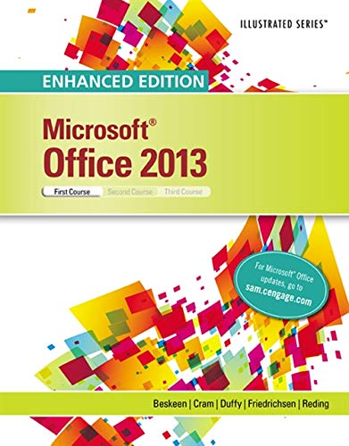 Download Microsoft Office 2013: First Course (Illustrated) 1305409027