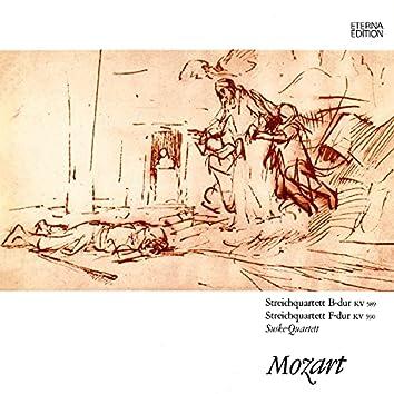 Mozart: Streichquartette No. 22 & 23