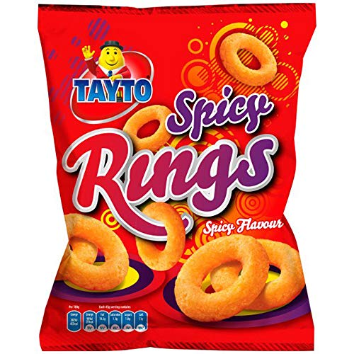 Tayto Spicy Rings 24 x 45g