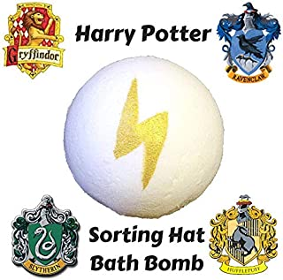 ONE Harry Potter Sorting Hat Bath Bomb/Hogwarts Stocking Stuffer Christmas Gift For Teen,Nerdy Christmas Gift, Harry Potter Bath Gift For Her