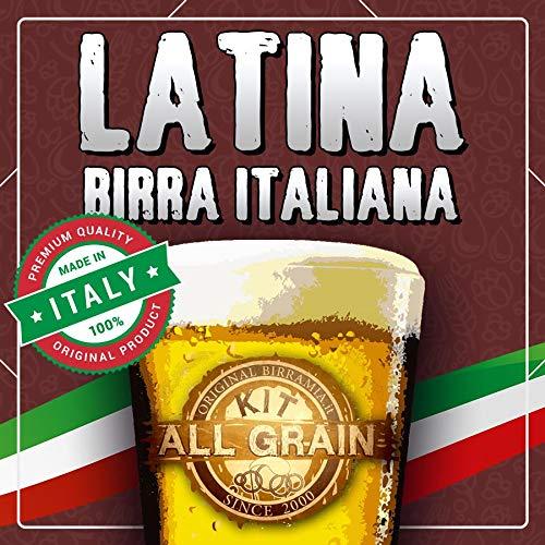 Kit All Grain para cerveza rubia latina, 100% italiana (23 litros)