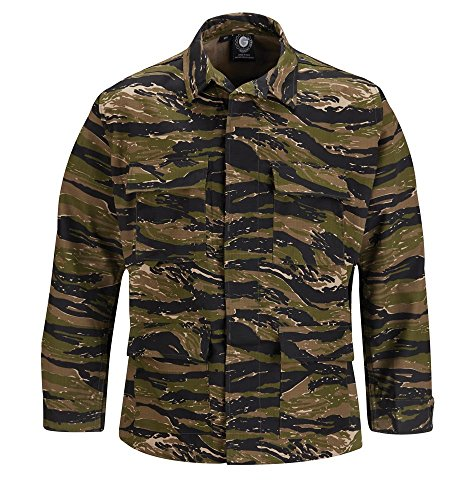 Propper Men's BDU Coat, Asian Tiger Stripe, Small Long