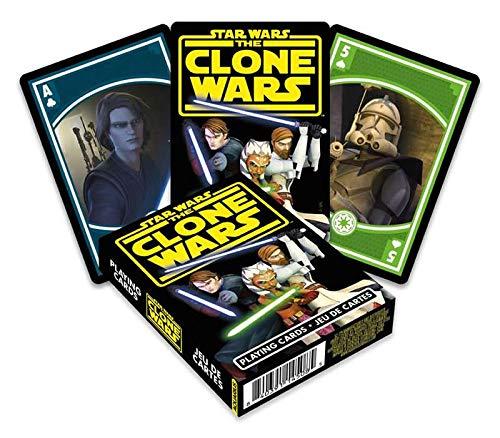 Disney Star Wars (ディズニー スター・ウォーズ ) The Clone Wars (クローン・ウォーズ) Playing Card (トランプ) [並行輸入品]