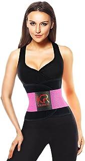 00b0229e68 Killreal Women s Waist Trainer Belt - Body Shaper Belt for an Hourglass  Shaper Pink