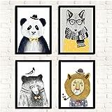 XINNeck Leinwanddruck,Abstract Art,Cute,HD,Wall