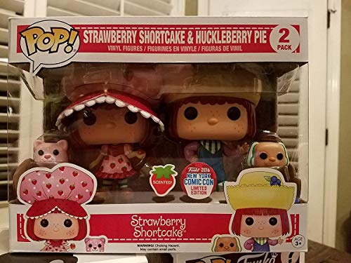 Set 2 Figuras Pop! Strawberry Shortcake & Huckleberry Pie Exclusive