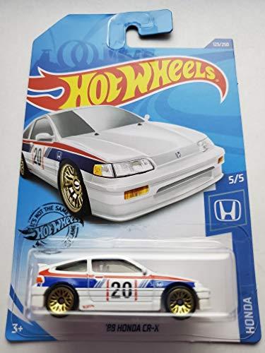 Hot Wheels 2020 Honda Series 5/5 - '88 Honda CR-X, White 123/250