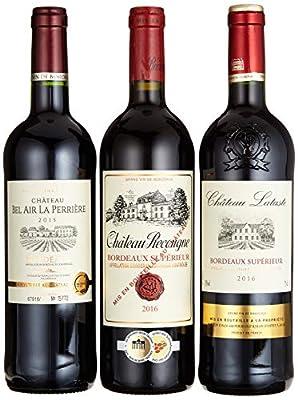 "Weinpräsent Geschenkset""Weine aus Bordeaux"" trocken (3 x 0.75 l)"