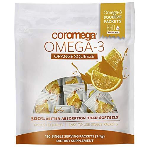 Coromega Omega 3 Fish Oil Supplement