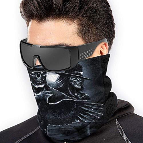 ngxiandaz Volbeat Poster Soft Fleece Halswärmer Gaiter Gesichtsmaskenabdeckung für kaltes Wetter