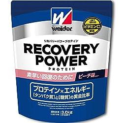 ウイダー リカバリーパワープロテイン ピーチ味 3kg