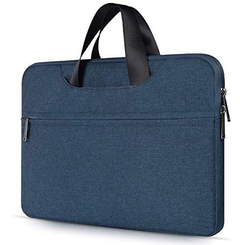 15.6 Inch Laptop Briefcase Bag for Acer Aspire E 15/ Chromebook 15 | Dell Inspiron 15 | Lenovo Yoga 710/720/730 15, HP Toshiba MSI Chromebook Notebook Tablet Bag, Navy Blue