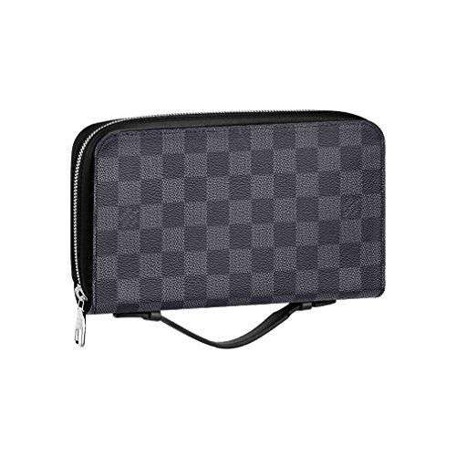 Louis Vuitton Damier Canvas Portafoglio Zippy XL Wallet N41503 Made in France