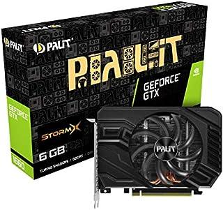 Palit NE51660018J9-165F - Tarjeta gráfica (GeForce GTX 1660,  6 GB,  GDDR5,  192 bit,  7680 x 4320 Pixeles,  PCI Express x16 3.0)