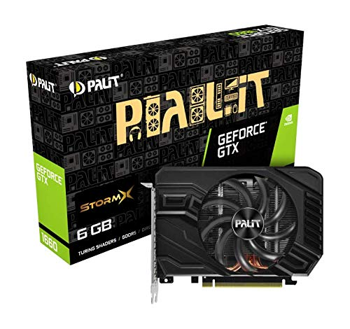 Palit GeForce GTX 1660 StormX Grafikkarte (6 GB)