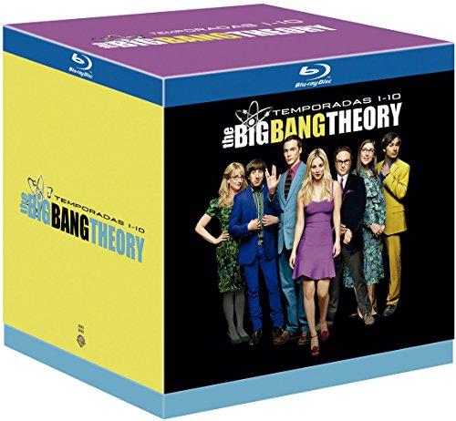 The Big Bang Theory Temporada 1-10 Blu-Ray [Blu-ray] (Blu-ray)