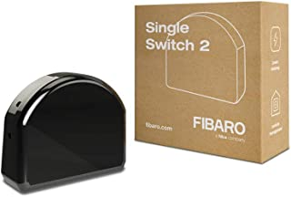 Fibaro Fibefgs-213 Single Switch 2, Zwart