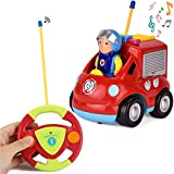 Product Image of the Liberty Imports My First RC Cartoon Car Vehicle 2-Channel Remote Control Toy -...