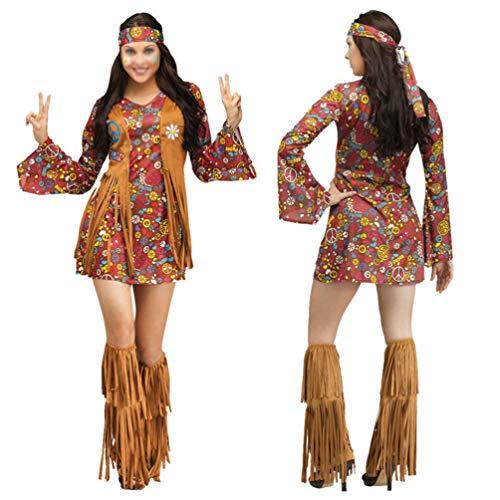 TOYANDONA 1 Set Mujeres Traje Nativo Traje Indio Ropa de rol Ropa Princesa India Disfraz para Decoración de Cosplay