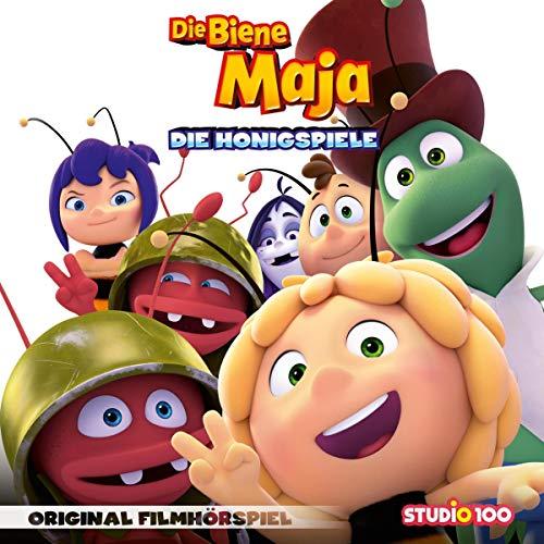 Die Biene Maja - Die Honigspiele. Original Filmhörspiel Titelbild