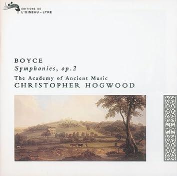 Boyce: 8 Symphonies, Op.2