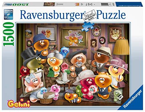 Ravensburger Puzzle 15014 - Gelini Familienportrait - 1500 Teile Puzzle für Erwachsene und Kinder ab 14 Jahren, Gelini Puzzle