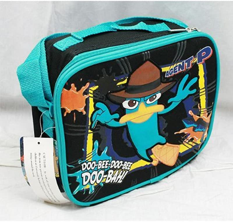 Phineas And Ferb Insulated Lunch Bag Tote School