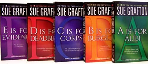 Sue Grafton: The Kinsey Millhone Mysteries : 'A' Is for Alibi/'B' Is for Burglar/'C' Is for Corpse/'D' Is for Deadbeat/Box...