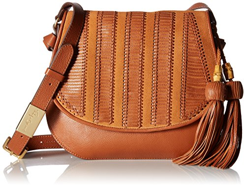 Foley + Corinna Charlotte Saddle Bag, Honey Brown
