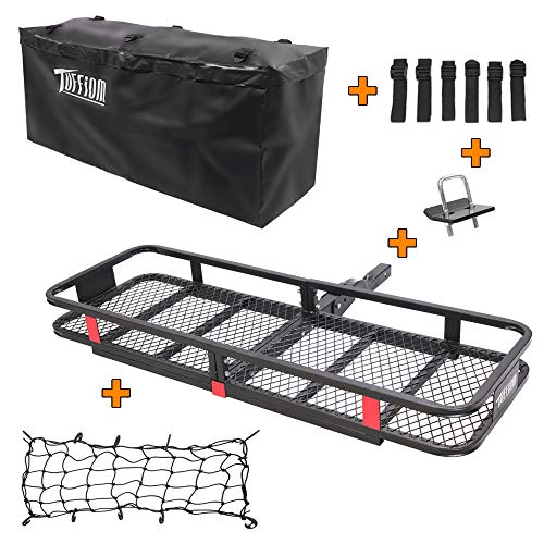TUFFIOM Hitch Mount Cargo Carrier (60