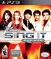 Disney Sing It Pop Hits with Microphone(PS3 輸入版 北米)