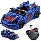 WisePlay Build Your Own RC Car Kit for Kids, 585pcs Stem Building Sets for Boys 8-12, STEM Remote Control Car Building Kit, Birthday Toy Gift for 8, 9, 10, 11, and 12 Year Old Boys