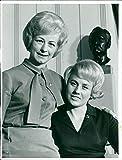 Ewy Rosqvist and Ursula Wirth. - Vintage Press Photo