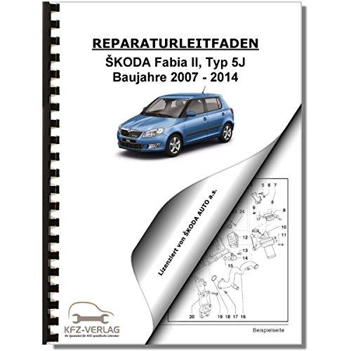 SKODA Fabia Typ 5J (13-14) Schaltplan Stromlaufplan Verkabelung Elektrik Pläne