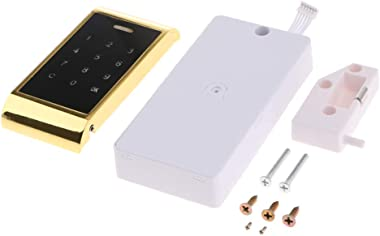 homozy Anti-peep Password Keypad Lock Security File Cabinet - Gold - Gold