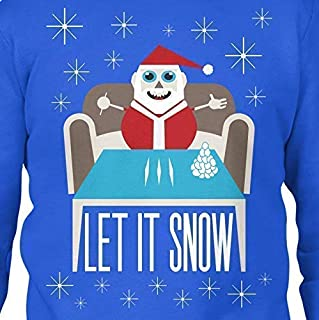 Let It Snow Ugly Christmas Sweater - Funny Meme shirt trending christmas party sweater cocaine santa