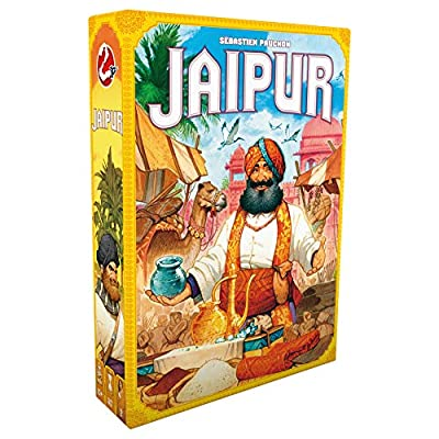 Jaipur Board Game (New Edition) | Strategy Game for Adults and Kids | Two Player Trading Game | Fun Tactical Game | Ages 10 and up | 2 Players | Average Playtime 30 Minutes | Made by Space Cowboys