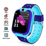 Kinder Smartwatch, Smart Watch Phone mit Musik-Player, SOS, 1,44 Zoll LCD-Touchscreen-Uhr mit Digitalkamera, Spielen, Wecker für Jungen und Mädchen