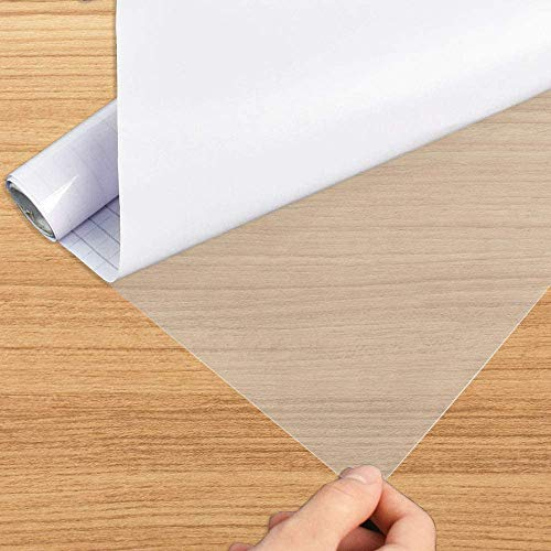 Selbstklebende Kunststoff-Kontaktpapier, wasserdichte Folie zum Schutz von Möbeln, Fliesen und Desktop-Küchen, Spritzschutz (40 x 500 cm)