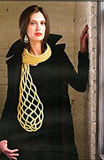honeycomb knitting pattern for scarf