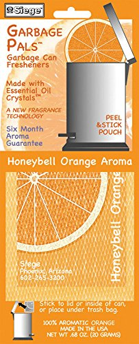 3703 Siege Garbage Pals Vuilnisbak Honeybell Orange Aroma Made in USA